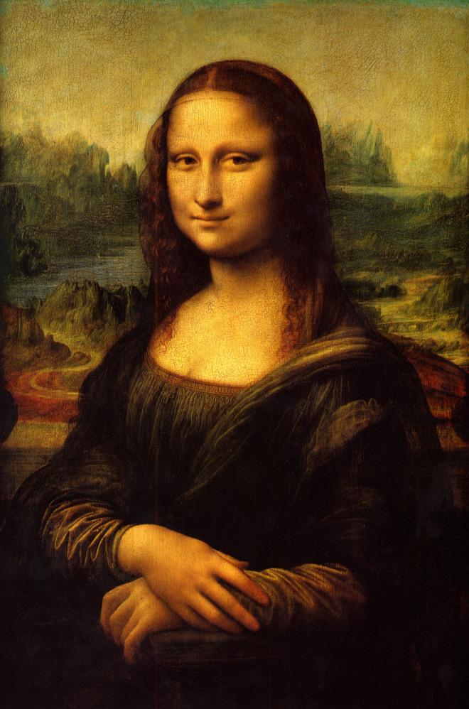 Leonardo Da Vinci - Mona Liza