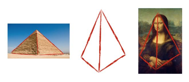 Mona Liza və Piramidalar