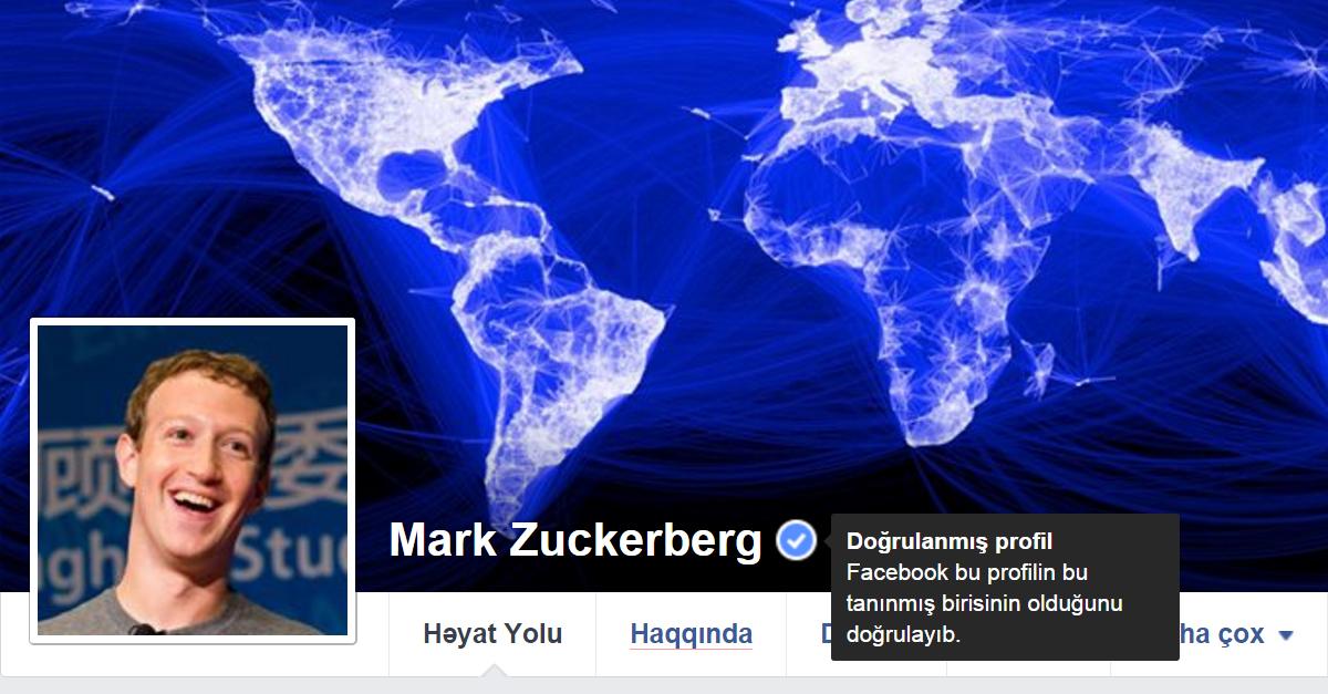 Facebook-dan Səhifə Doğrultması (Verified) İşarəsini Almaq