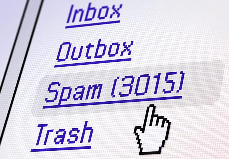 Emaili Spam Qovluğuna Göndərən Tullantı Sözlər