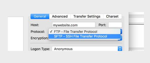 SFTP/SSH Yerinə Düz FTP İstifadəsi