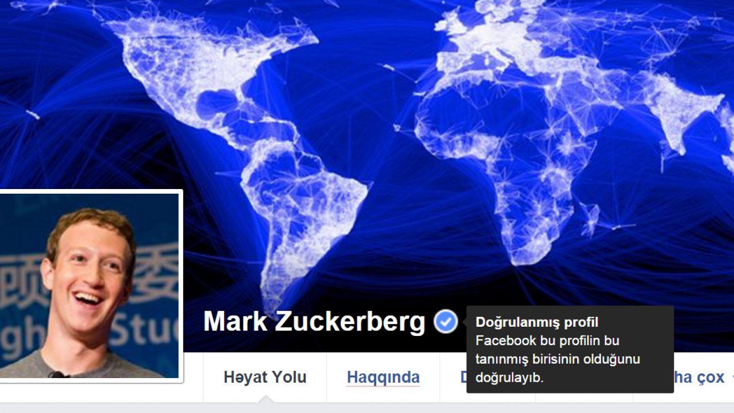 Facebook-dan Səhifə Doğrultması Nişanı (Verification Badge) Almaq