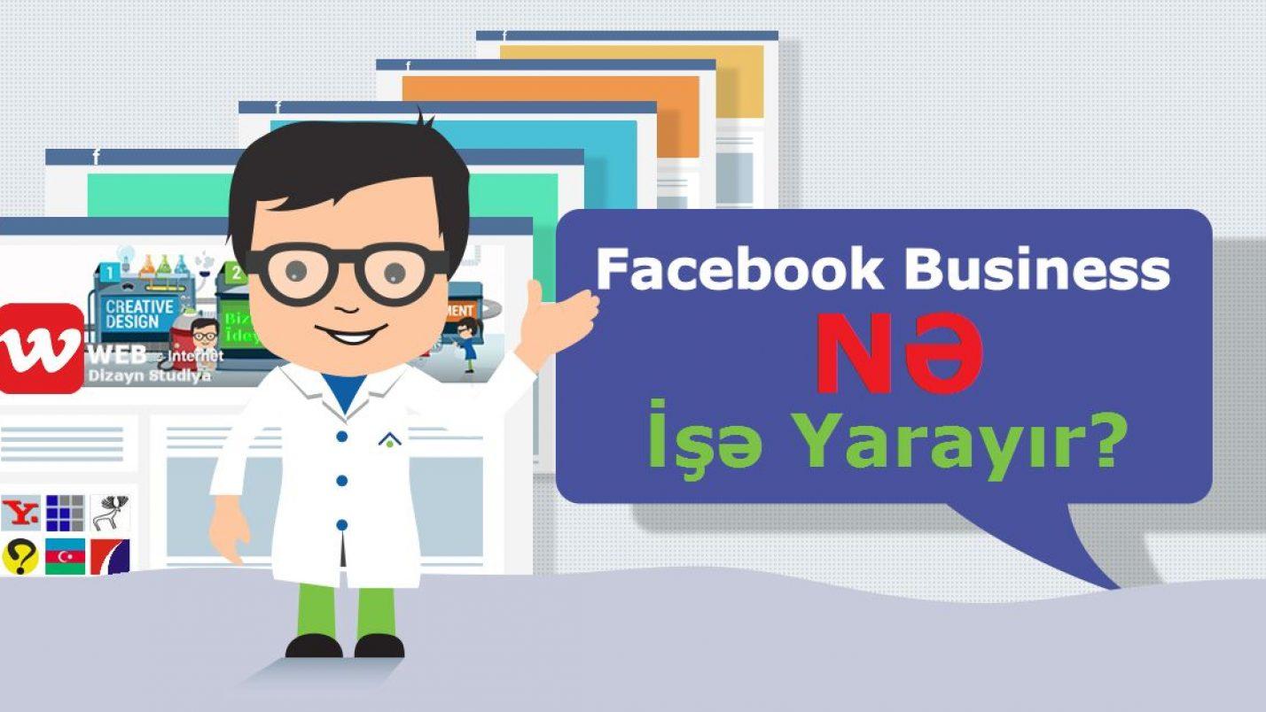 Biznes və Brendin Facebookda Nə İşi Var